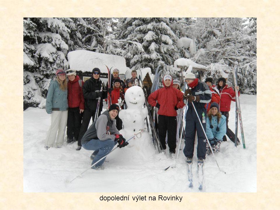 příprava na start v běhu na lyžích