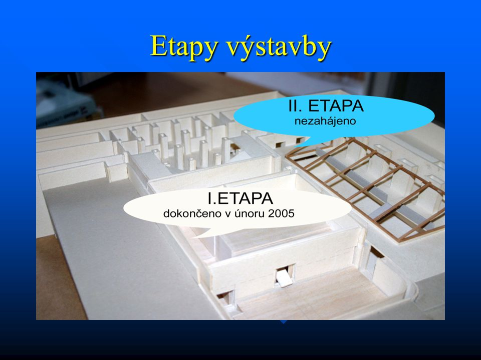 Etapy výstavby