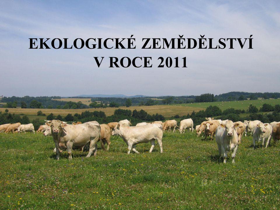 RokPočet podniků celkem Výměra zemědělské půdy v EZ v ha Procentický podíl ze zem.