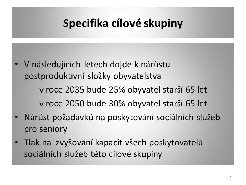 Přehled stávajících služeb dle 108/2006 Sb.