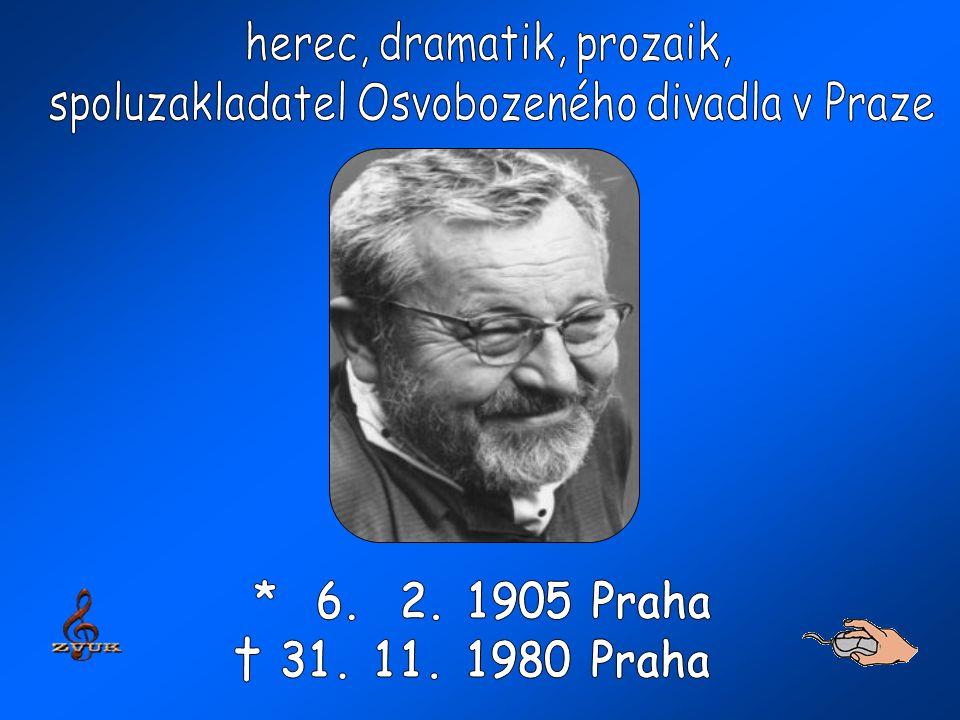foto a texty: http://ld.johanesville.net/werich/zivotopis?bio=1&fig=1http://ld.johanesville.net/werich/zivotopis?bio=1&fig=1 http://knihovnicka.werich.cz/hry_v+w.html a síť internetuhttp://knihovnicka.werich.cz/hry_v+w.html hudba : Jaroslav Ježek – Tanec loutky ze hry Osvobozeného divadla Svět za mřížemi (1933) Jaroslav Ježek - Bugatti step ke 105.