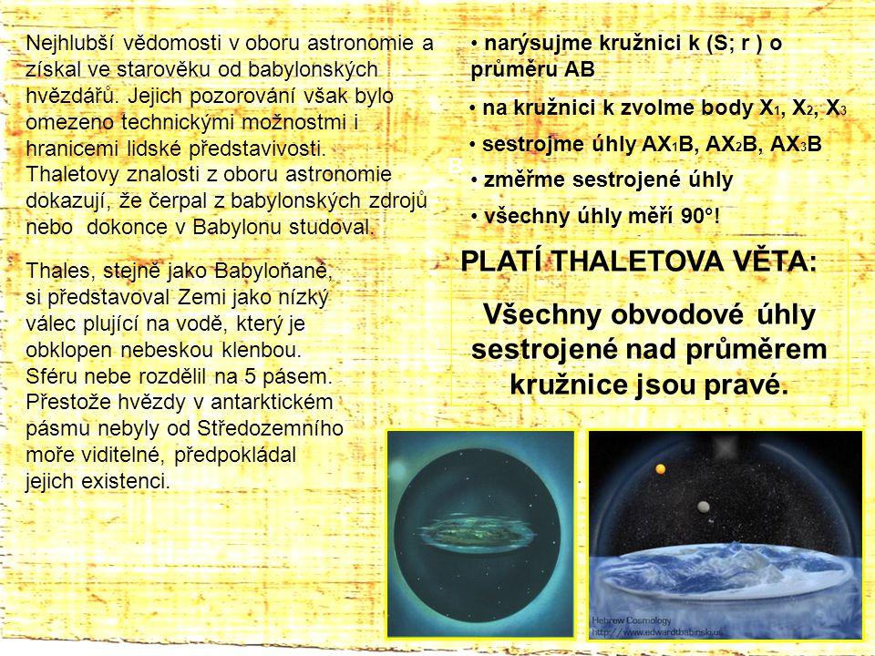 Nejhlubší vědomosti v oboru astronomie a získal ve starověku od babylonských hvězdářů.