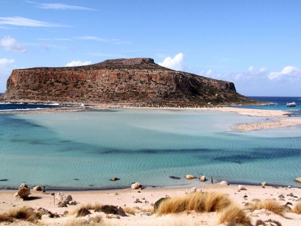 Krétské moře je nejčistší moře v celém Řecku.