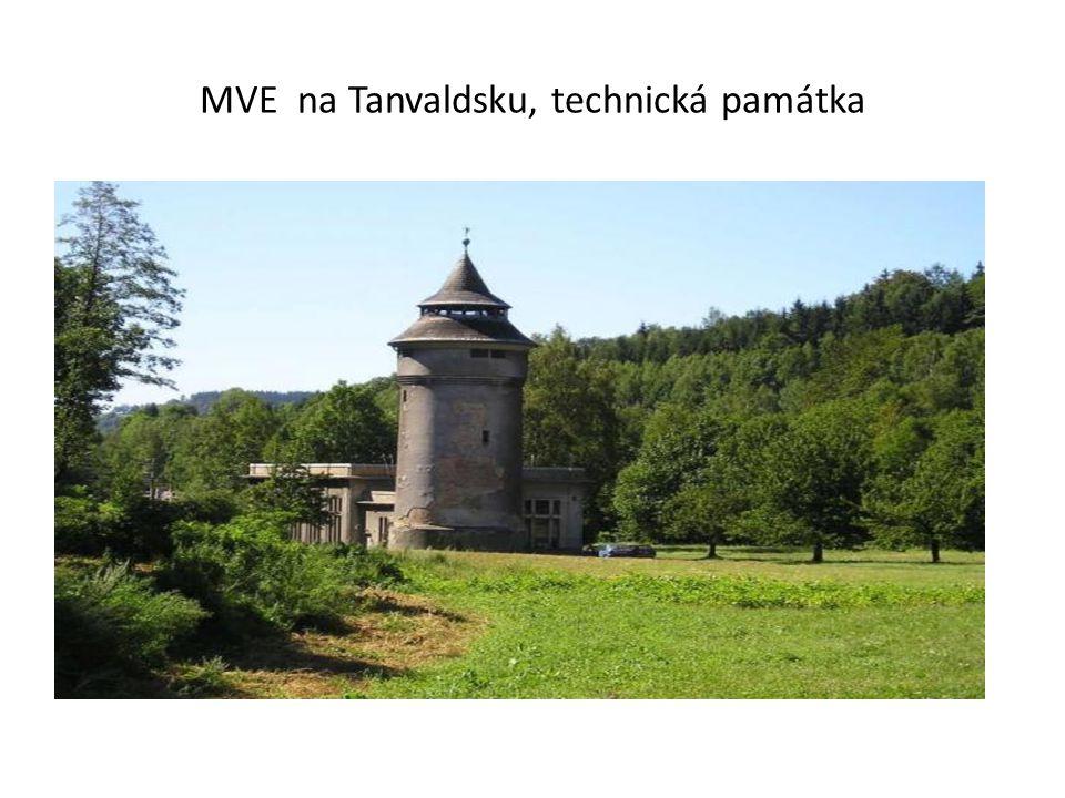 MVE na Tanvaldsku, technická památka