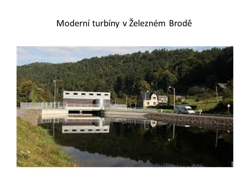 Moderní turbíny v Železném Brodě