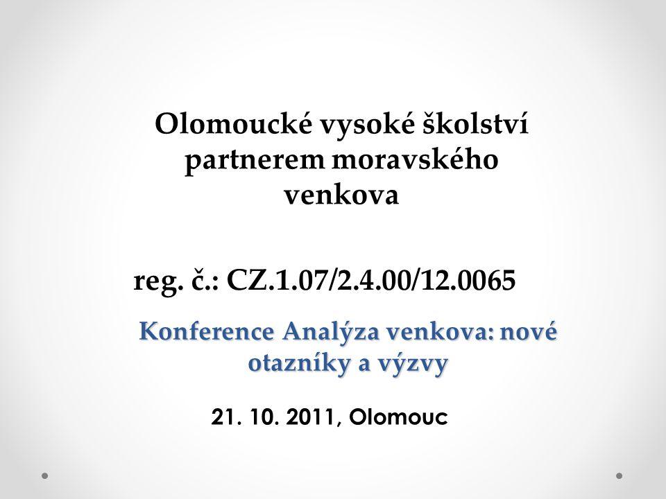 Analýza postojů, názorů a cílů zastupitelů v obcích Moravskoslezského kraje Mgr.