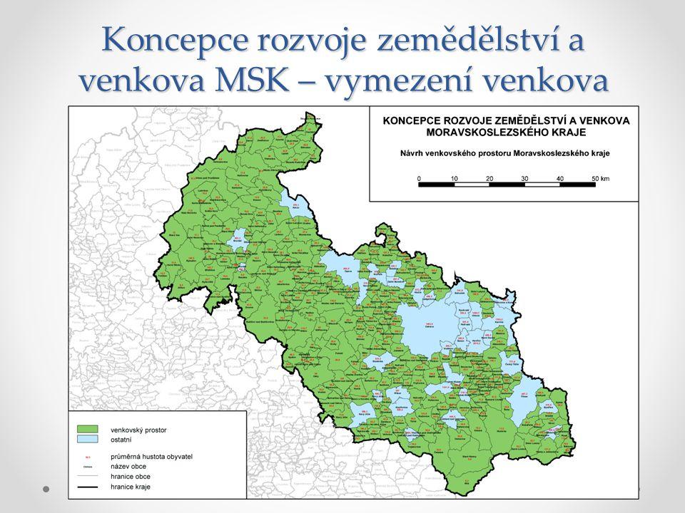 Důležitost cílů samospráv MSK – rozvojový diskurz
