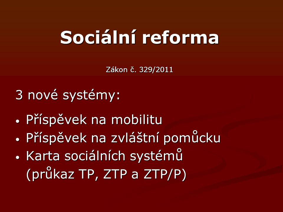 Sociální reforma Zákon č.