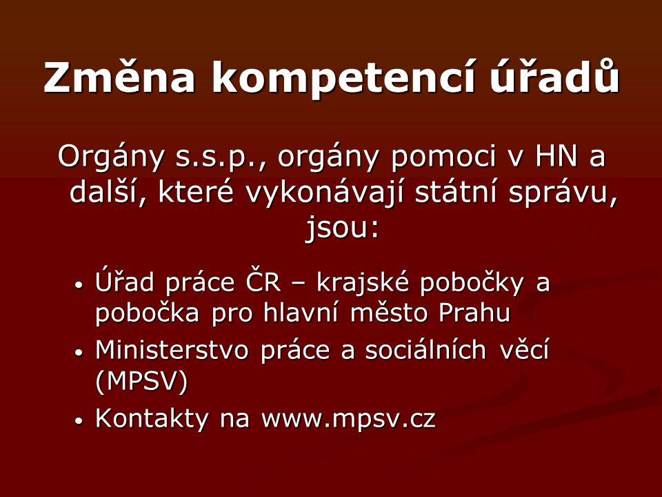 Dávky státní s.s.p.Zákon č.