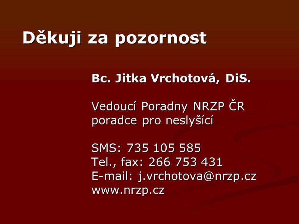 Bc.Jitka Vrchotová, DiS.