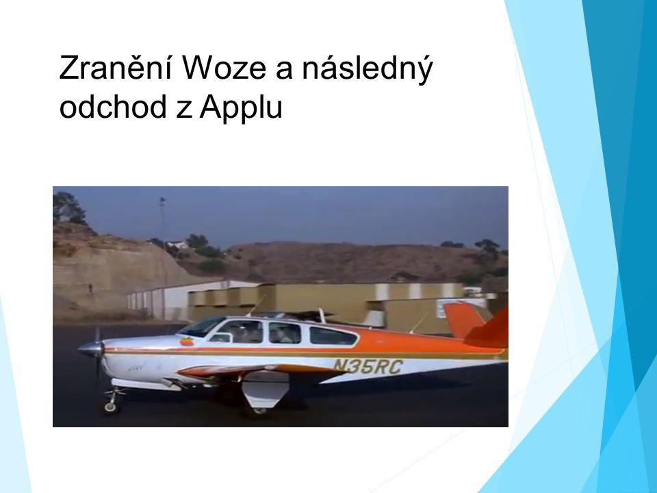 Zranění Woze a následný odchod z Applu