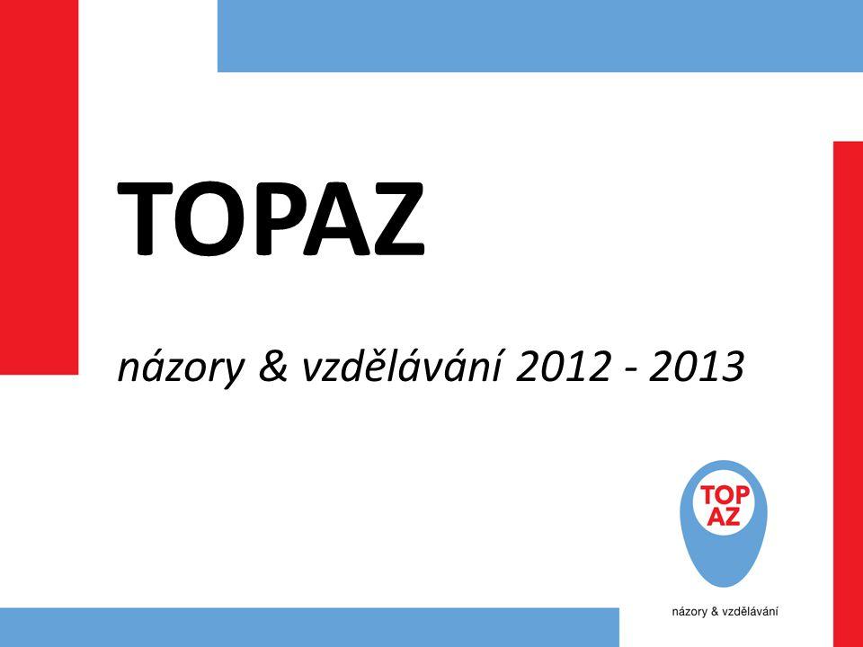 TOPAZ názory & vzdělávání 2012 - 2013