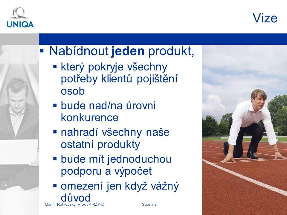 Martin Rotkovský, Produkt RŽP-D Strana 3 Zní to jako pohádka? X