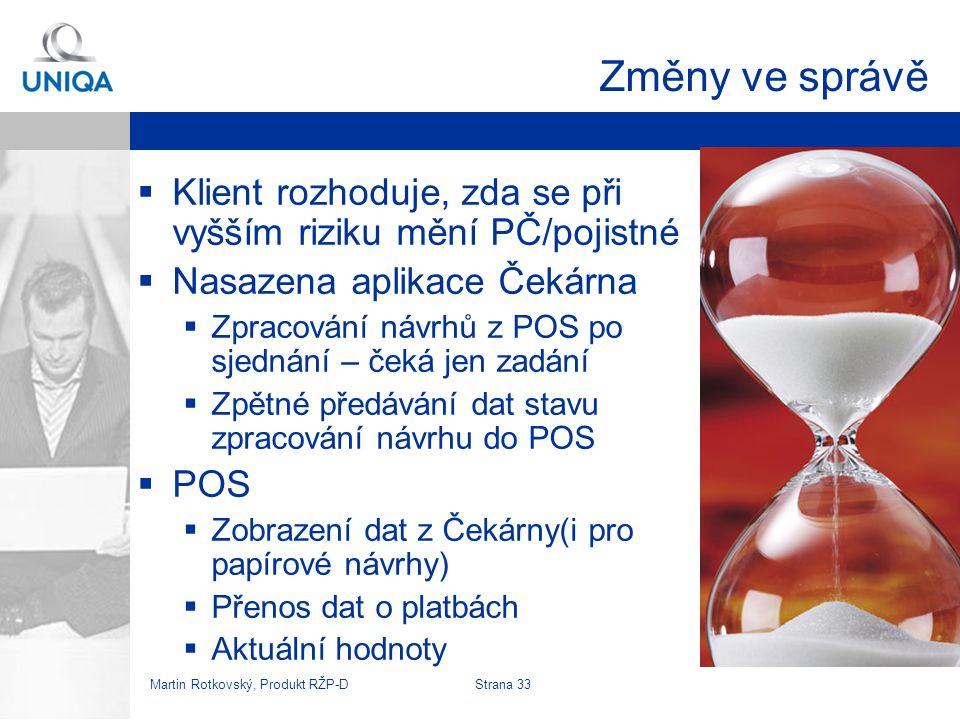Martin Rotkovský, Produkt RŽP-D Strana 34 Náhled na zpracované návrhy