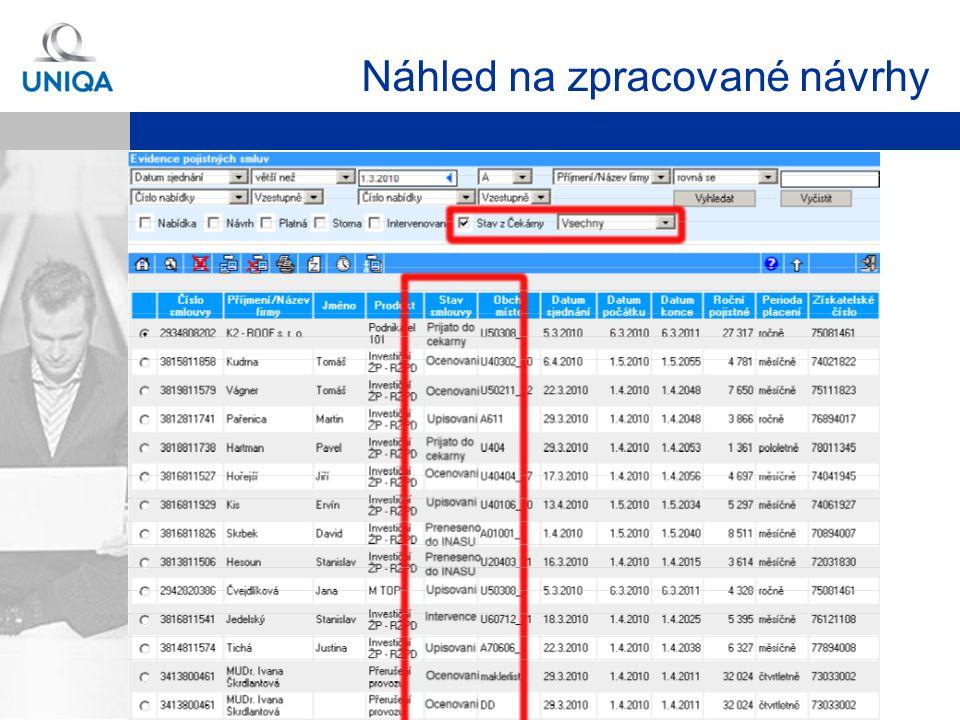 Martin Rotkovský, Produkt RŽP-D Strana 35 Detailní přehled operací při zpracování