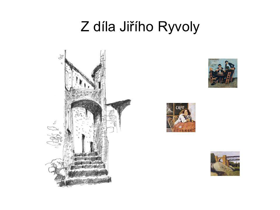 Z díla Jiřího Ryvoly