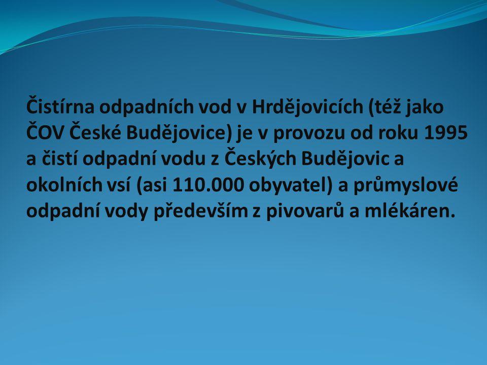 Čistírna odpadních vod v Hrdějovicích (též jako ČOV České Budějovice) je v provozu od roku 1995 a čistí odpadní vodu z Českých Budějovic a okolních vs