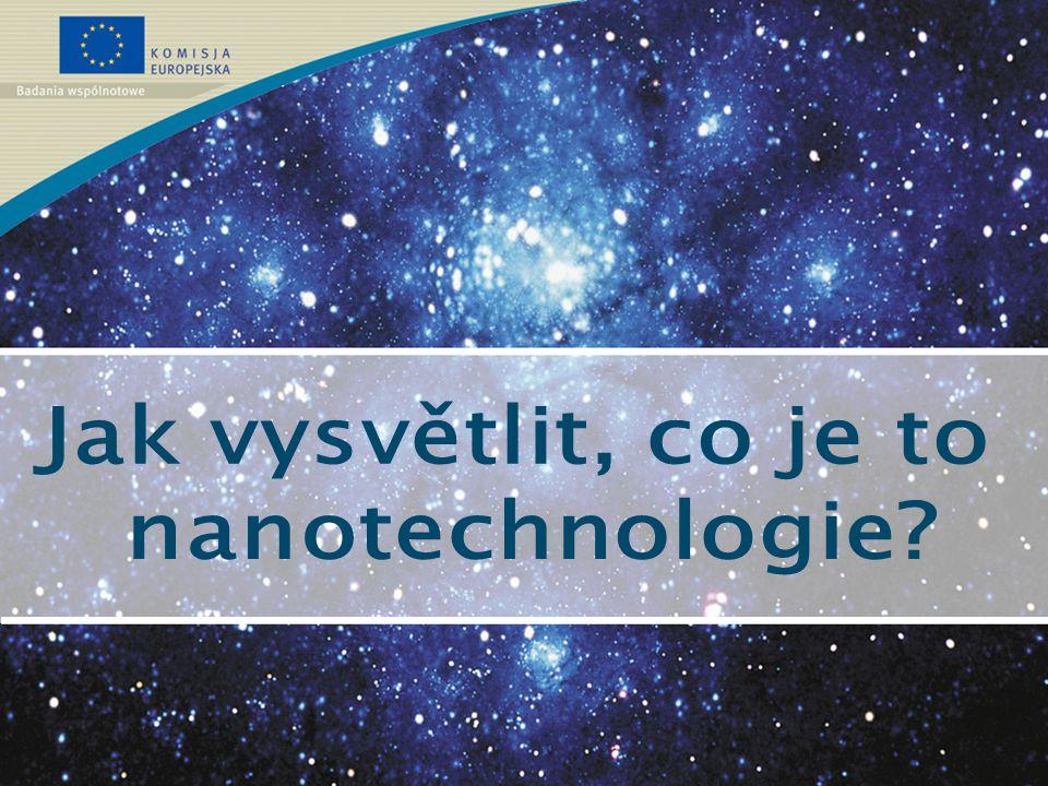 V budoucnosti si můžeme představit aplikace, jako například: >měření s přesností jediného atomu; >senzory na detekci nebezpečných látek; >elektronika, ve které využijeme každý elektron; >membrány pro separaci s velkou přesností; >materiály s potřebnými vlastnostmi; >nano-stroje; >nano-roboty, které dokáží vyčistit a opravit tvoje tělo...nyní jsme jen na začátku.