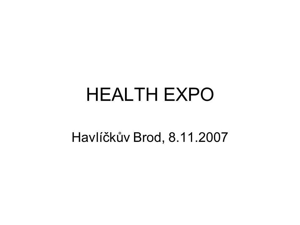 HEALTH EXPO Havlíčkův Brod, 8.11.2007
