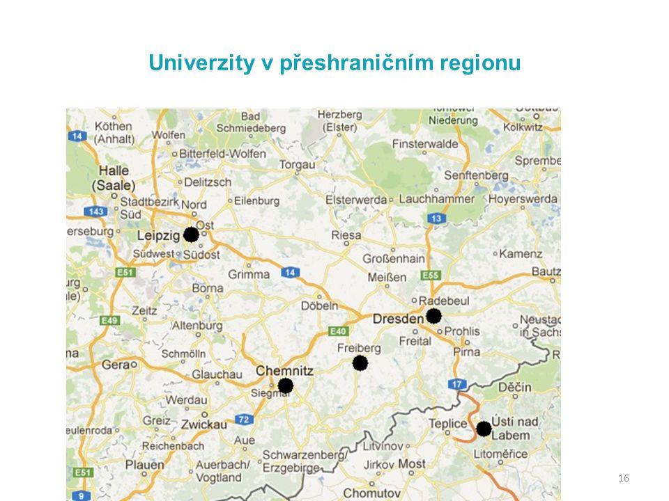 Univerzity v přeshraničním regionu 16