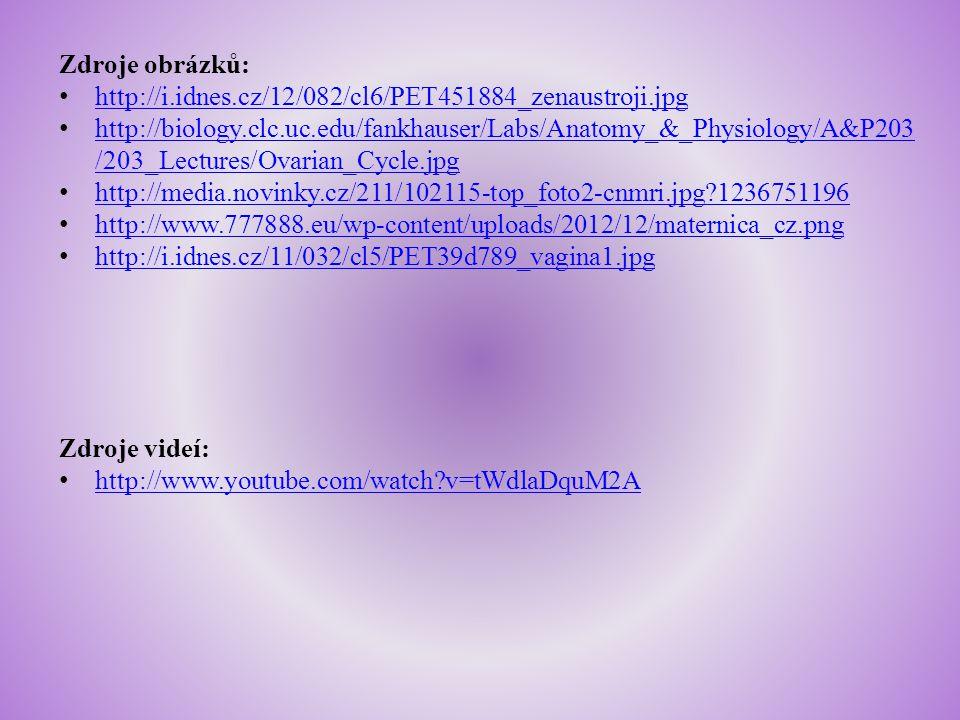 Zdroje obrázků: http://i.idnes.cz/12/082/cl6/PET451884_zenaustroji.jpg http://biology.clc.uc.edu/fankhauser/Labs/Anatomy_&_Physiology/A&P203 /203_Lect