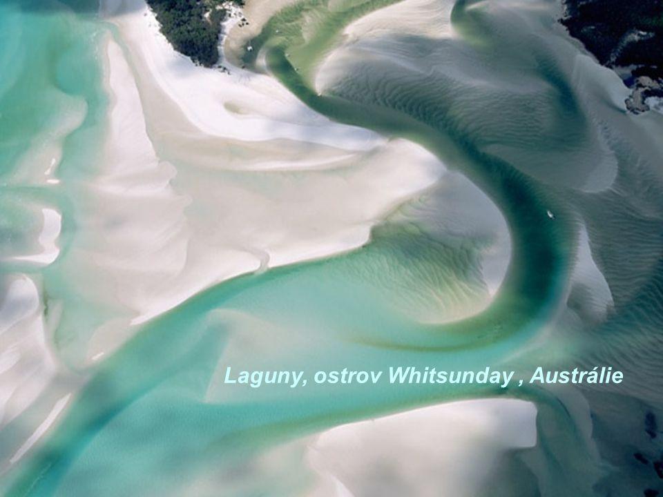 Laguny, ostrov Whitsunday, Austrálie