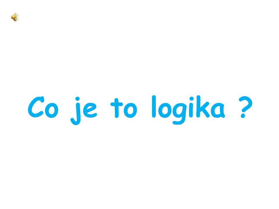Co je to logika