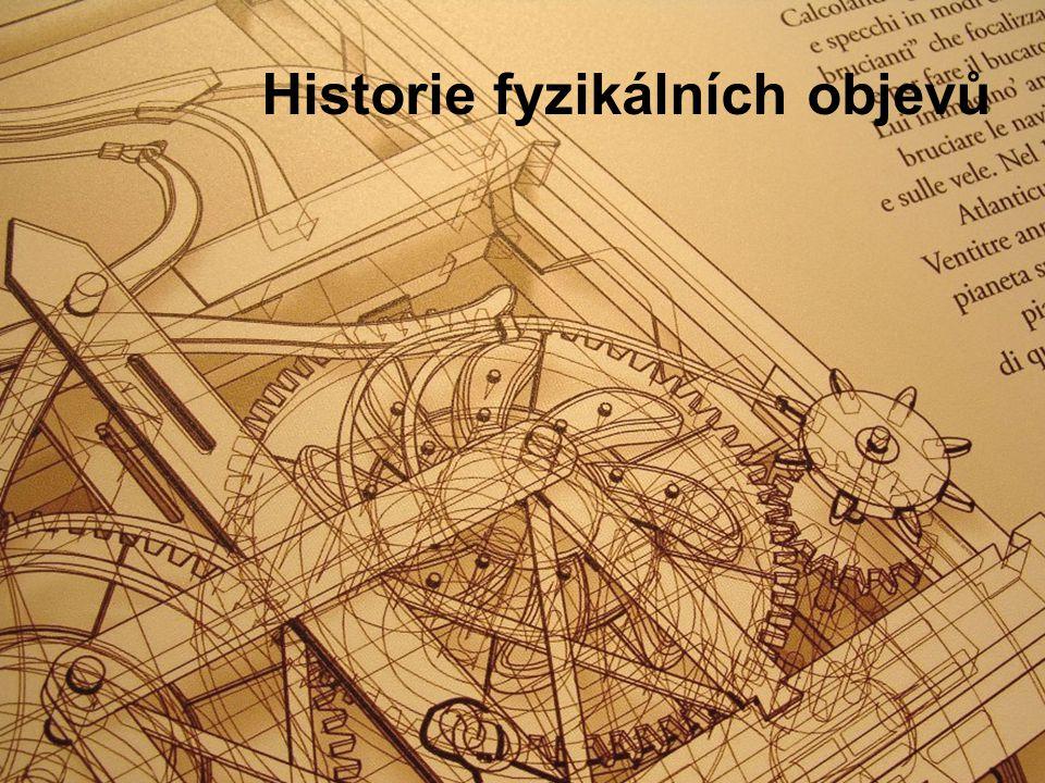 Historie fyzikálních objevů