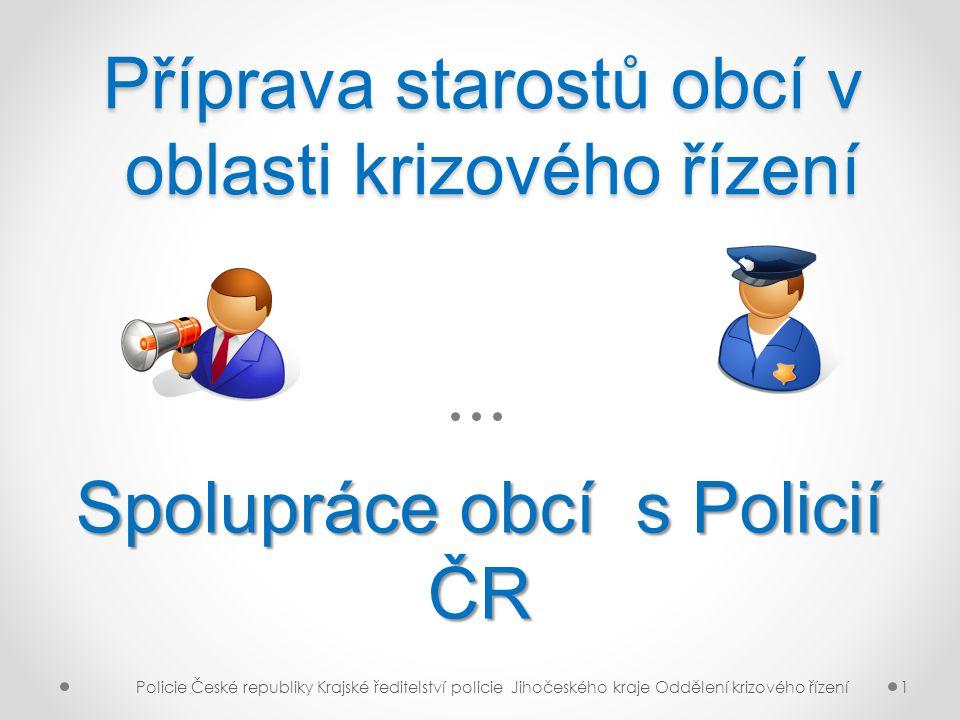 12 Krajské ředitelství Policie Jihočeského kraje ředitel: plk.