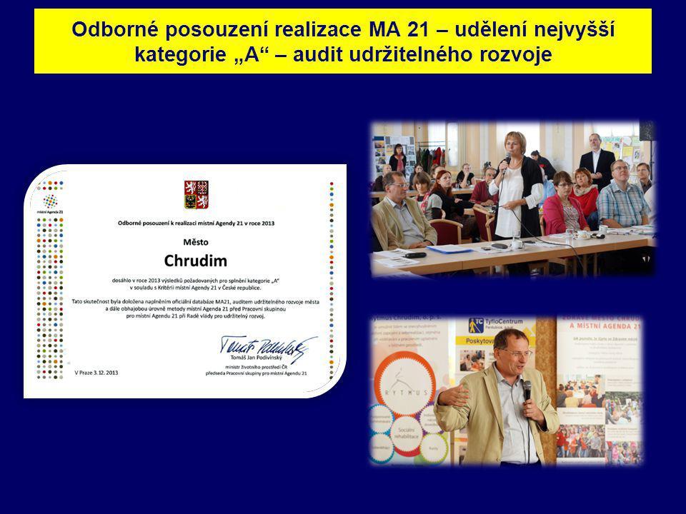 """Odborné posouzení realizace MA 21 – udělení nejvyšší kategorie """"A"""" – audit udržitelného rozvoje"""