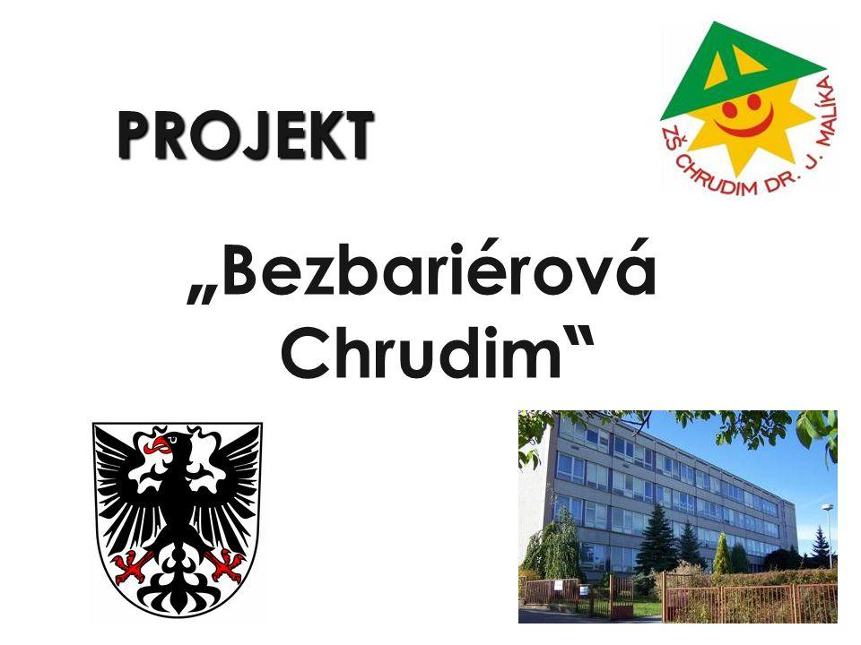 "PROJEKT "" Bezbariérová Chrudim"