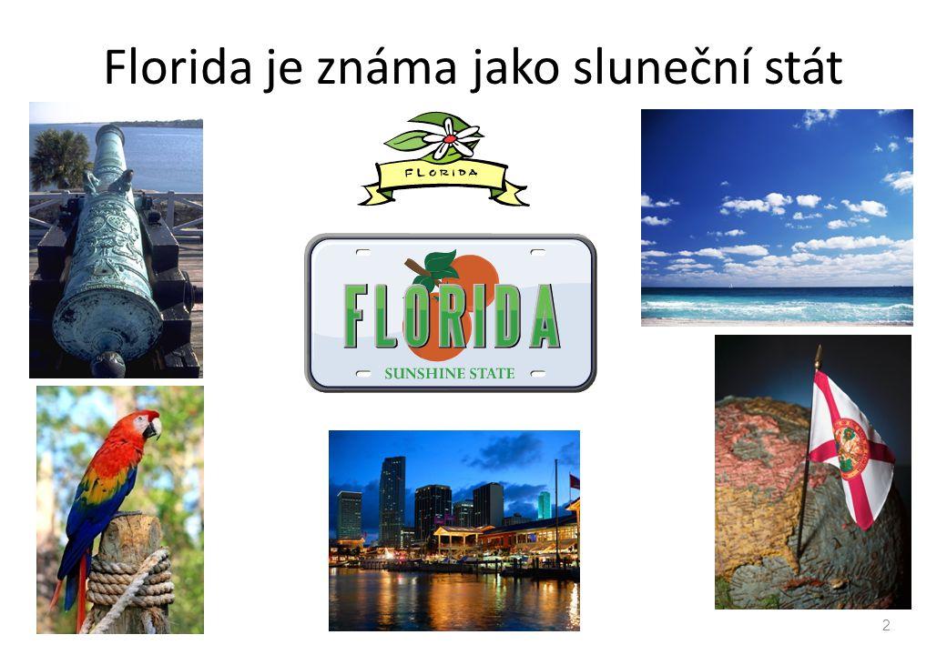 Florida je známa jako sluneční stát 2