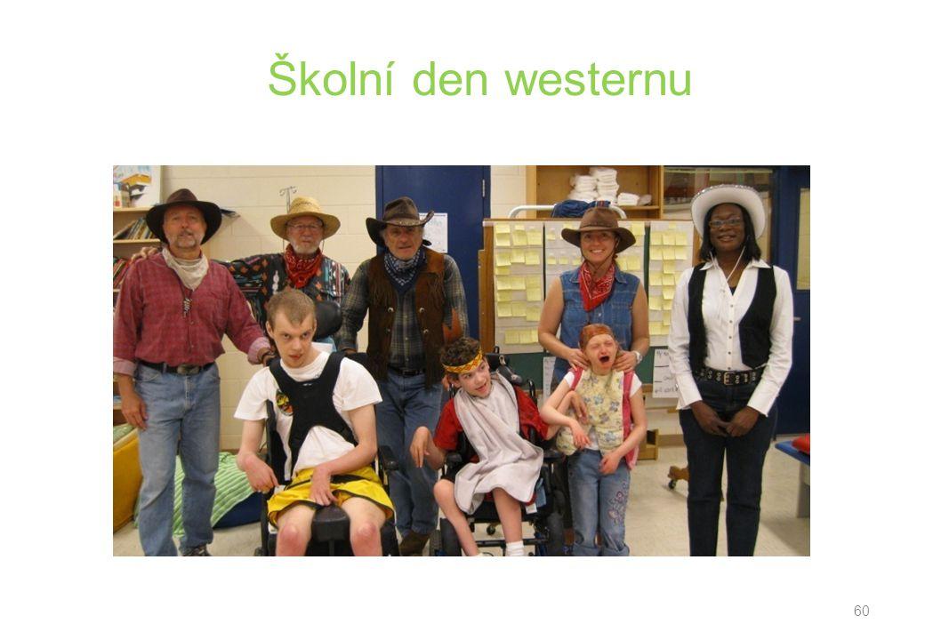 Školní den westernu 60