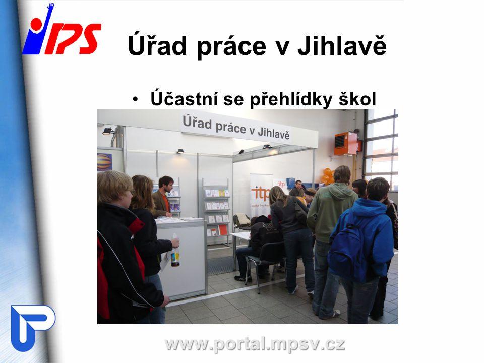 Úřad práce v Jihlavě Účastní se přehlídky školwww.portal.mpsv.cz