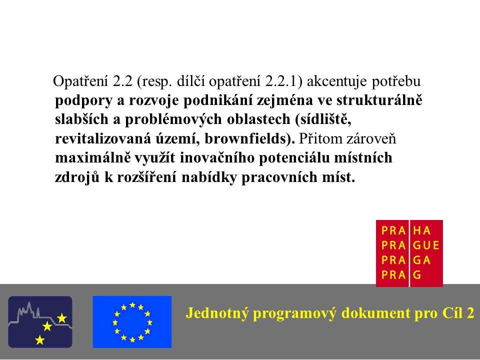 Opatření 2.2 (resp.
