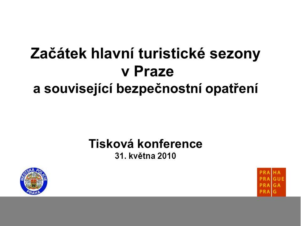 Začátek hlavní turistické sezony v Praze a související bezpečnostní opatření Tisková konference 31.
