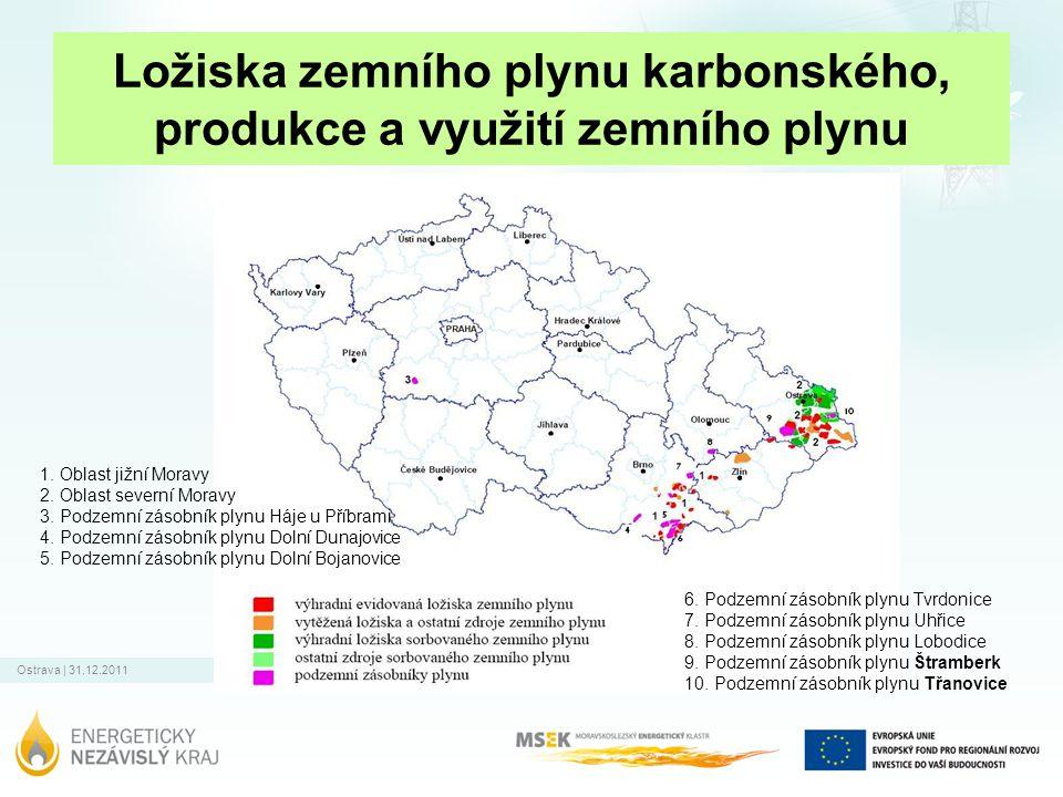 Ostrava   31.12.2011 Spotřeba zdrojů energie v MSK Nat.