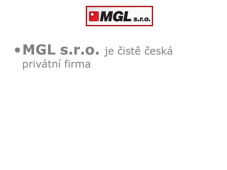 MGL s.r.o. je čistě česká privátní firma