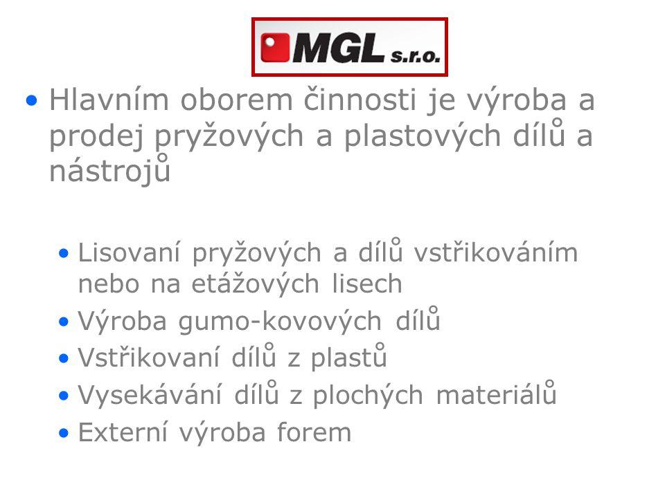 Vstřikování plastů termoplastické elastomery – TPV, SEBS, TPU… termoplastické materiály – PE, PP, PVC, POM … obstřik kovových dílů plastem materiály plněné