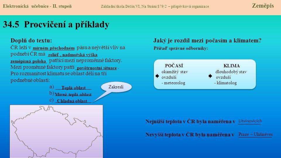 34.6 Něco navíc pro šikovné Elektronická učebnice - II.