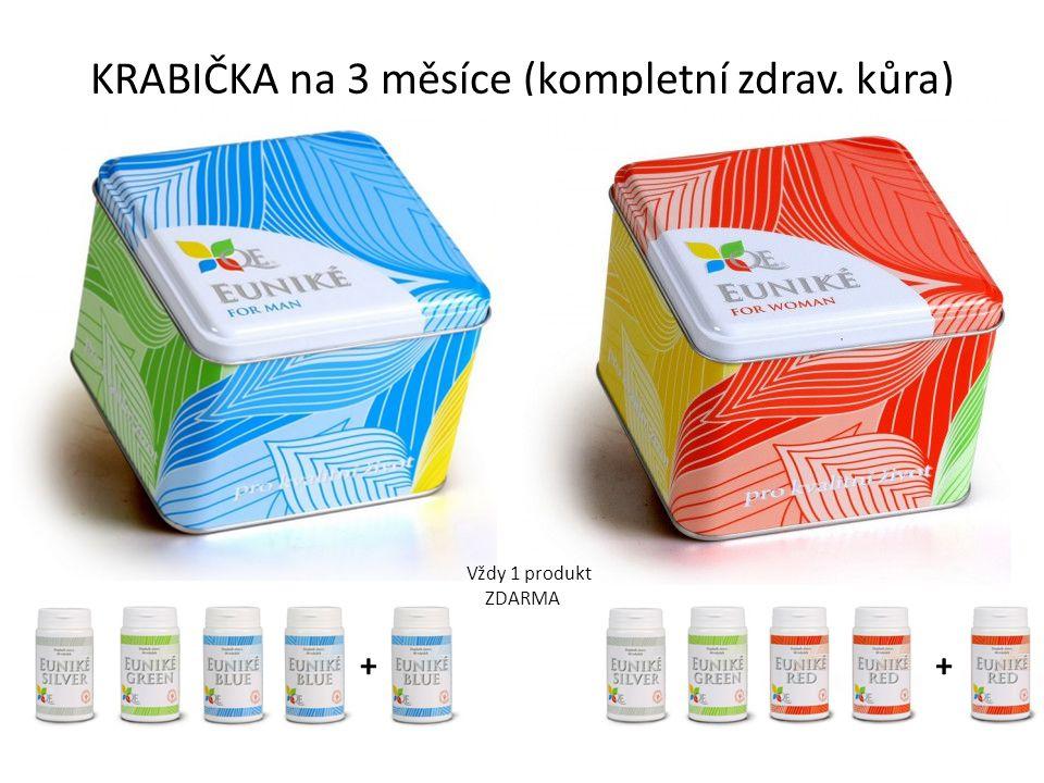 KRABIČKA na 3 měsíce (kompletní zdrav. kůra) ++ Vždy 1 produkt ZDARMA