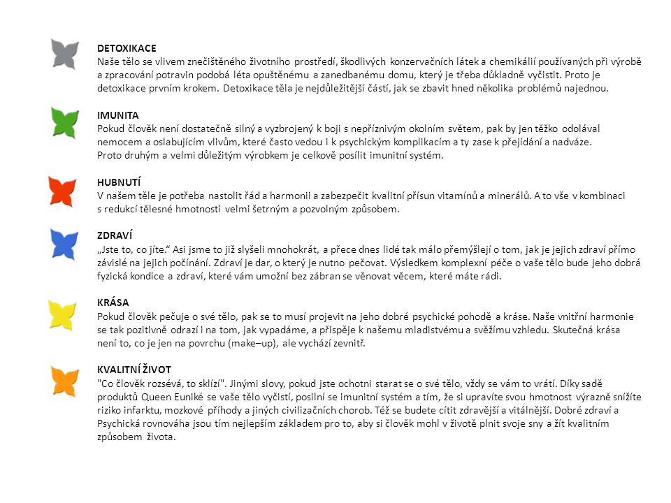 (Grape seed Extract, Extrakt ostropestřce mariánského, extrakt vinné révy, Selen) Chřipka a nachlazení Ničí 800 druhů virů a bakterií Antioxidační účinky Vylučuje toxické látky Přírodní antibiotikum Zpomaluje stárnutí buněk Extrakt z jadérek grepu je 50 x účinnější než vitamin E a 20 x než vitamin C (Žraločí chrupavka, CRA komplex, Kurkumin, chmelový extrakt, Hydratovaná silika) Ochrana a regenerace pohybového aparátu Správná funkce chrupavek Zlepšení pohyblivosti kloubů Regenerace svalů a šlach (dodáváme i hokejistům do NHL)