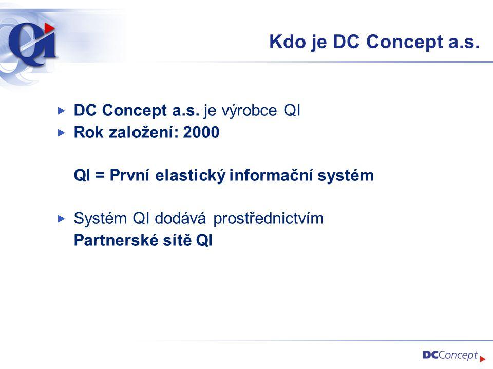 Jak spolupracujeme s QI  Spolupráce s výrobcem QI  Konzultace obchodních případů  Nadstandardní školení  Zprostředkování kontaktů a komunikace s partnery  Příprava spolupráci na rozvoji QI v oblasti pokročilého plánování  Kooperace s partnery na prvních zakázkách - obchod i implementace  Funguje to