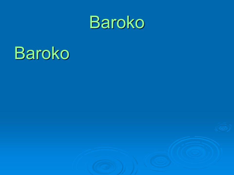 Baroko Baroko
