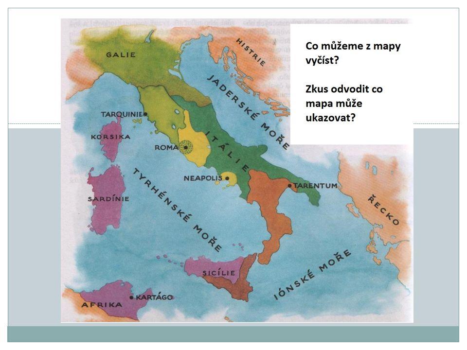 BOJ O APENINSKÝ POLOOSTROV – PORÁŽKA NEJVĚTŠÍCH SOUPEŘŮ Období římské republiky