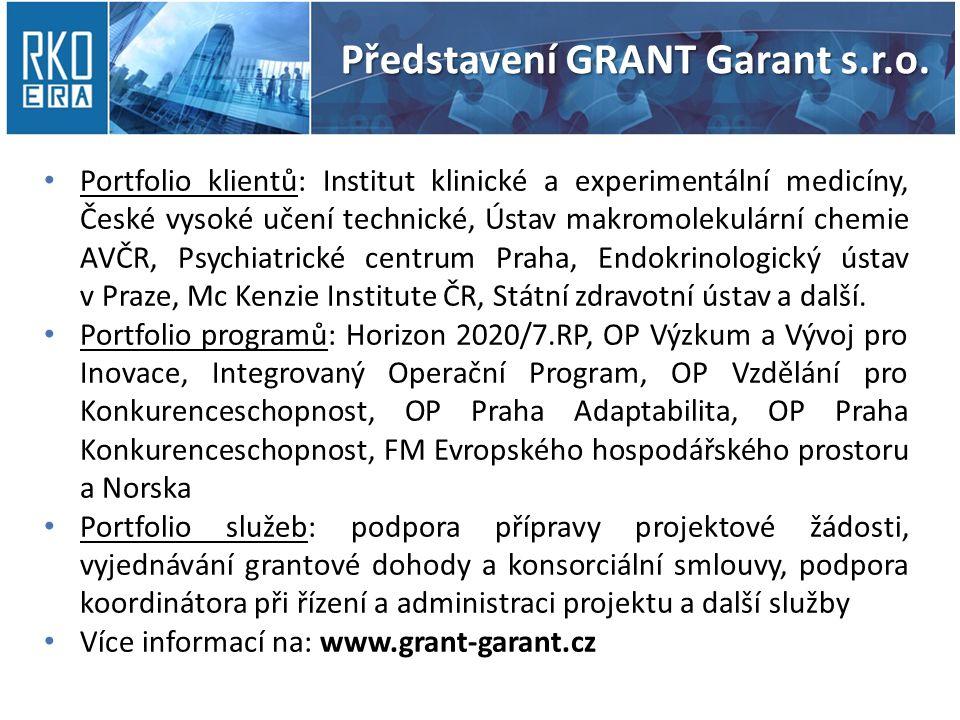 Participant Portal – Registrace PIC