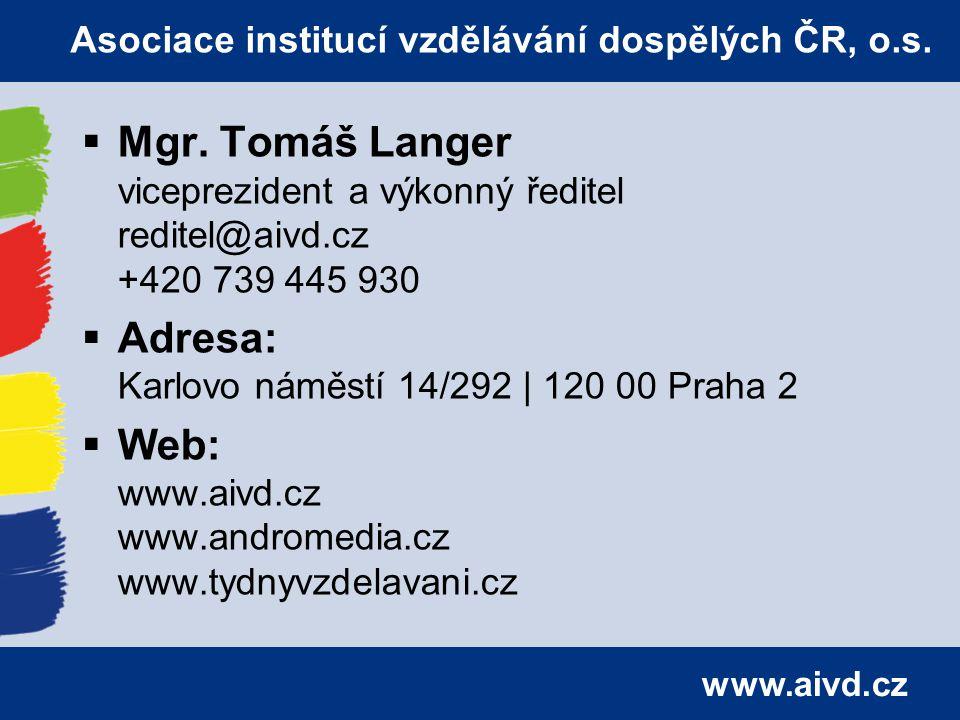 www.aivd.cz  Mgr.