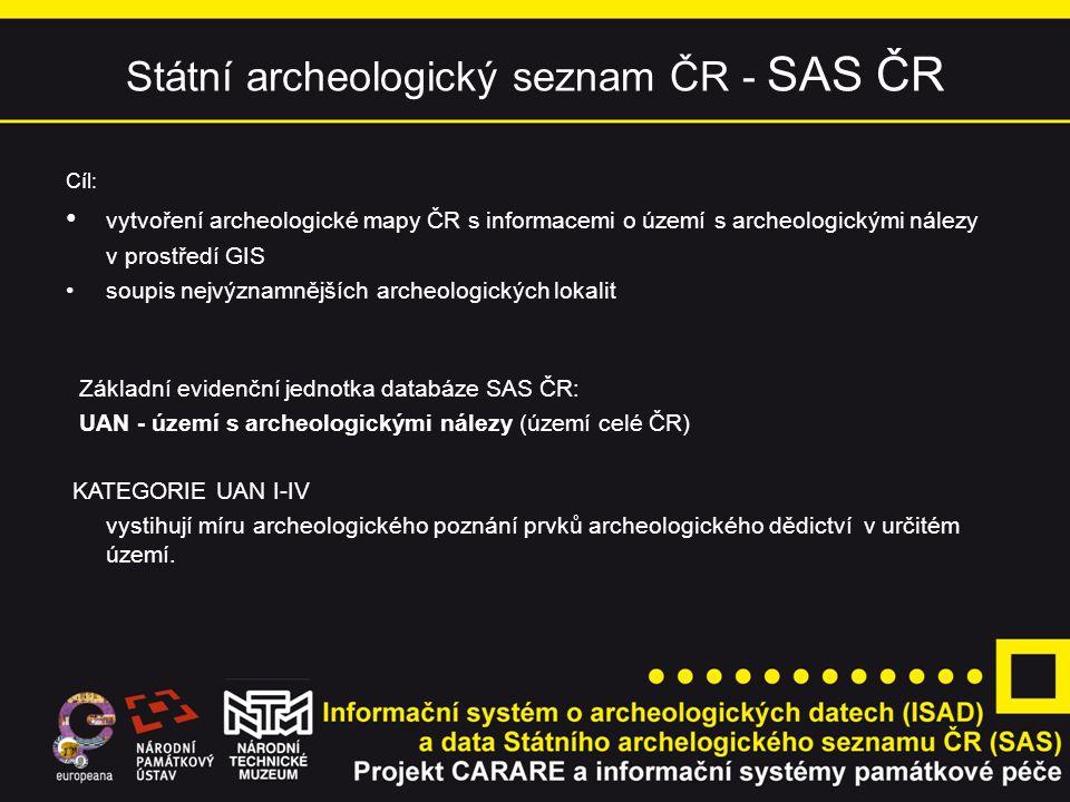 SAS ČR - kategorie UAN I.