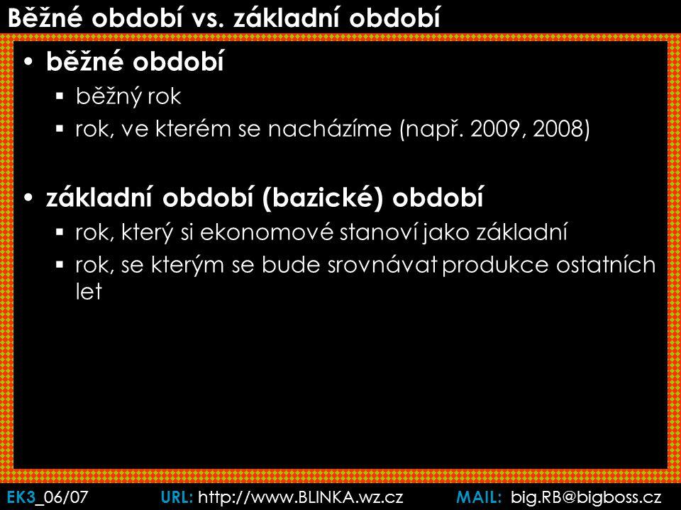 EK3 _06/07 URL: http://www.BLINKA.wz.cz MAIL: big.RB@bigboss.cz Běžné období vs.