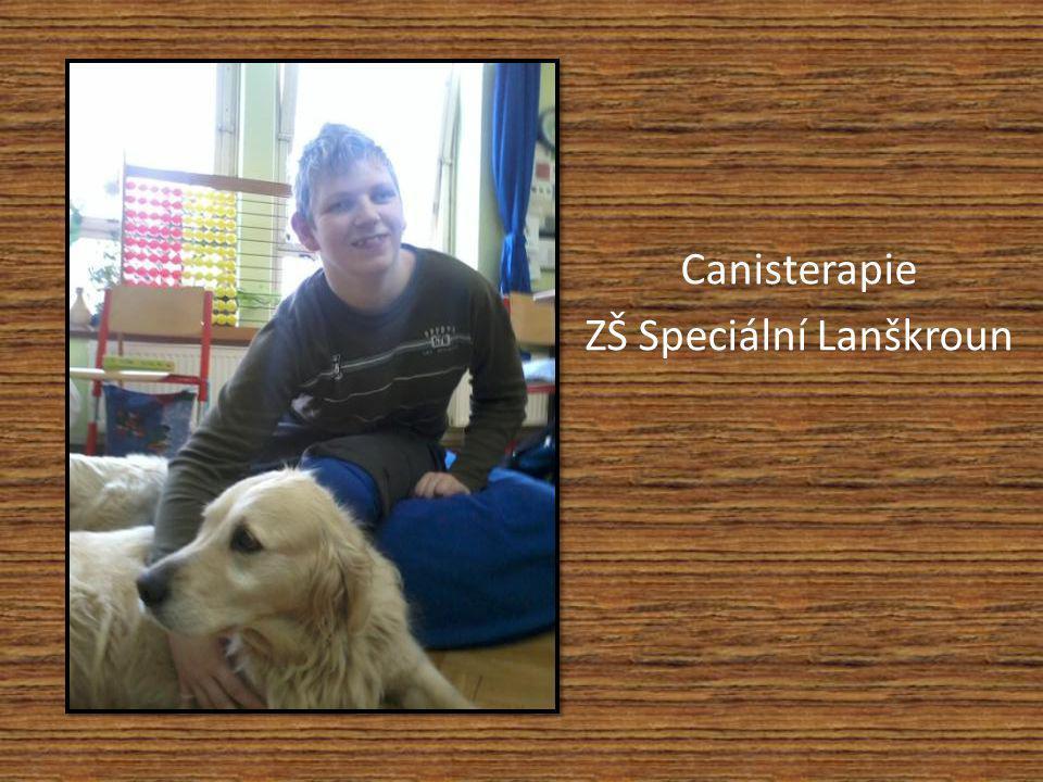 Canisterapie ZŠ Speciální Lanškroun